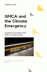 GMCA Mind the gap