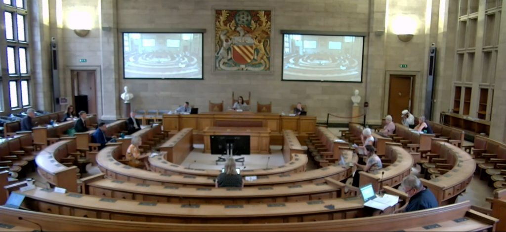 The Environment and Climate Change Scrutiny Committee meets.
